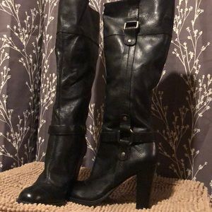 Nine West leather boots size 7.5m